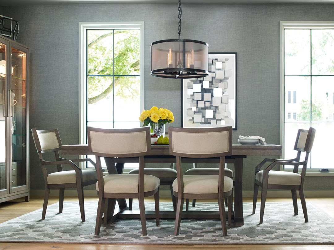 A Greige Table Can Give Your Dining Area An Updated, Versatile Look.