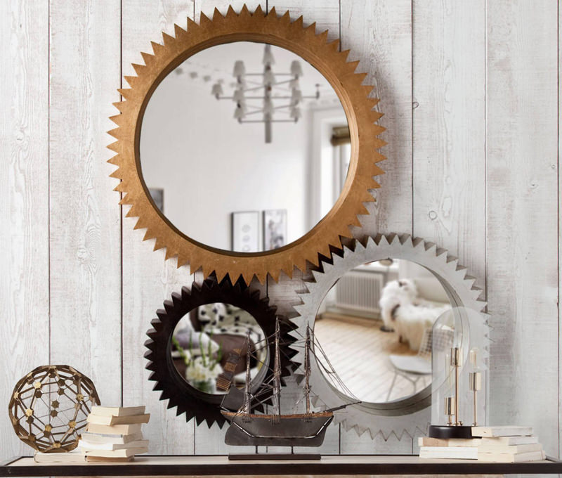 No Matter The Size, Style, Or Arrangement, Circular Mirrors Can Add An  Interesting