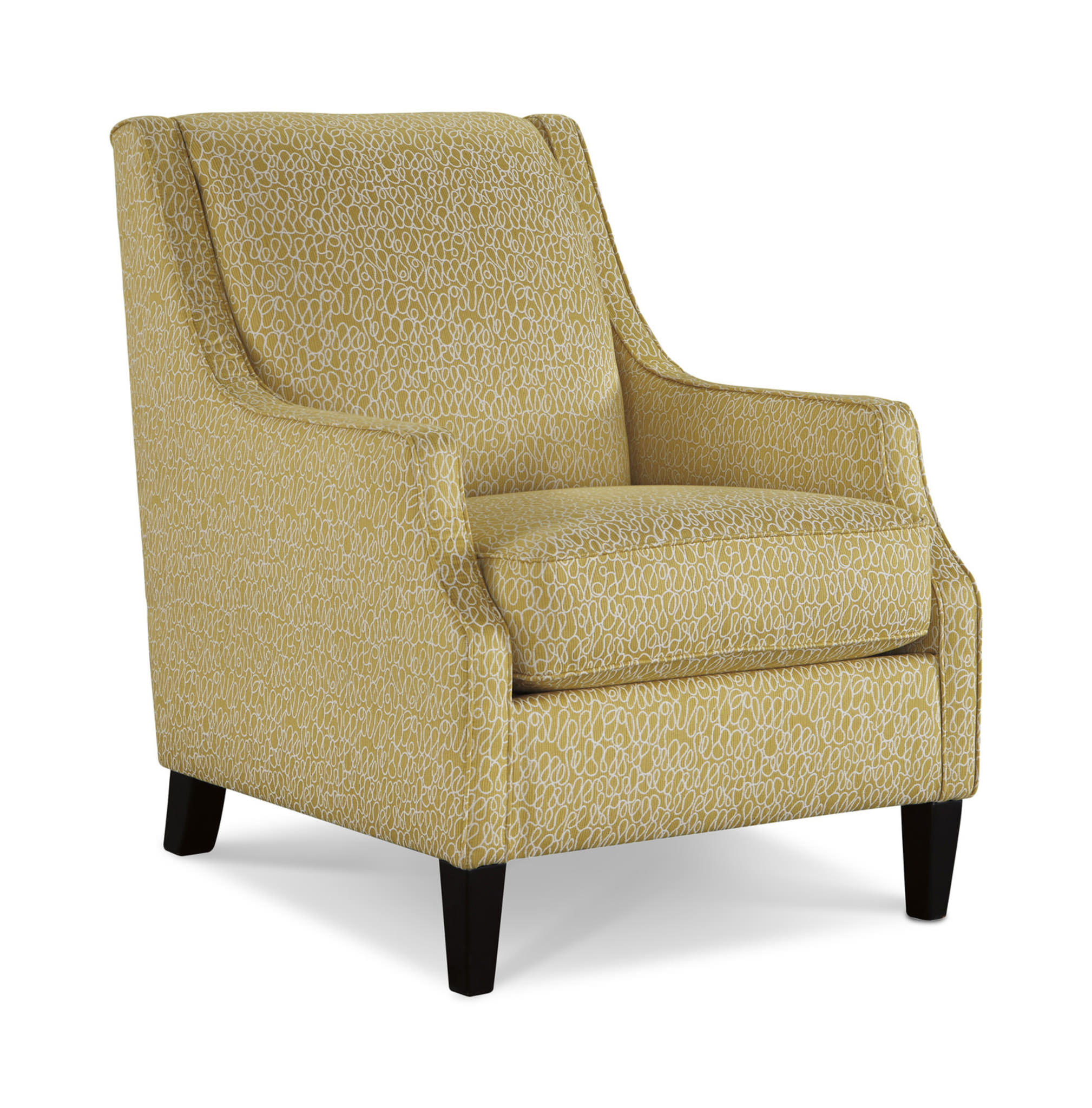 A Bright Accent Chair Can Add Visual Interest In Your E