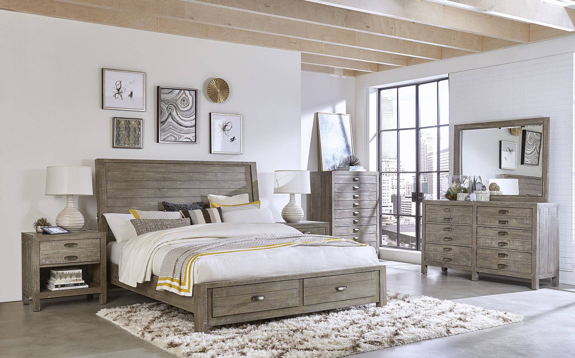 Small Bedroom Solutions - design blog by HOM Furniture